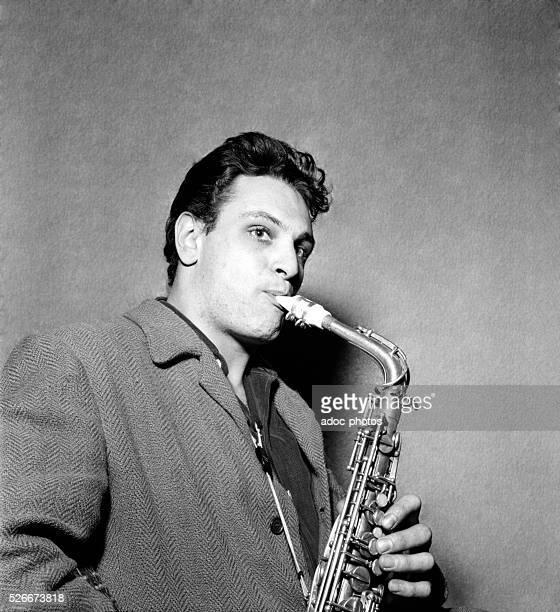 Michel de Villers French jazz saxophonist born in VilleneuvesurLot member of the jazz band of the club 'La Rose rouge' in SaintGermaindesPr��s Paris...