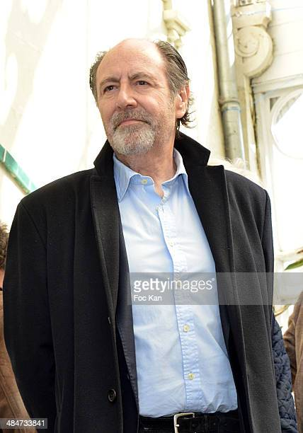 Michel Delpech attends the 'Journees Nationales du Livre et du Vin 2014' At Bouvet Ladurey Cellars on April 13 2014 in Saumur France