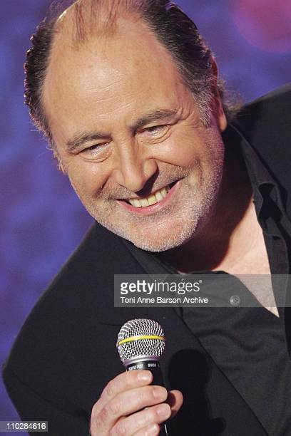 Michel Delpech during 'La Fete de la Chanson Francaise' Taping January 11 2006 at Zenith in Paris France