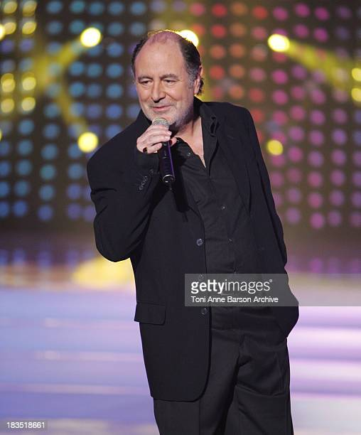 Michel Delpech during La Fete de la Chanson Francaise Taping January 11 2006 at Zenith in Paris France