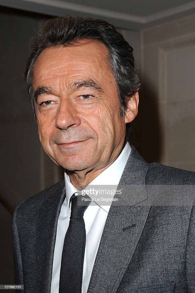 <a gi-track='captionPersonalityLinkClicked' href=/galleries/search?phrase=Michel+Denisot&family=editorial&specificpeople=753821 ng-click='$event.stopPropagation()'>Michel Denisot</a> attends Kate Moss for Fred jewellery launch during Paris Fashion Week at Hotel Ritz on October 4, 2011 in Paris, France.