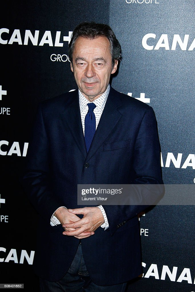 <a gi-track='captionPersonalityLinkClicked' href=/galleries/search?phrase=Michel+Denisot&family=editorial&specificpeople=753821 ng-click='$event.stopPropagation()'>Michel Denisot</a> attends the 'Canal + Animators' Party At Manko on February 3, 2016 in Paris, France.