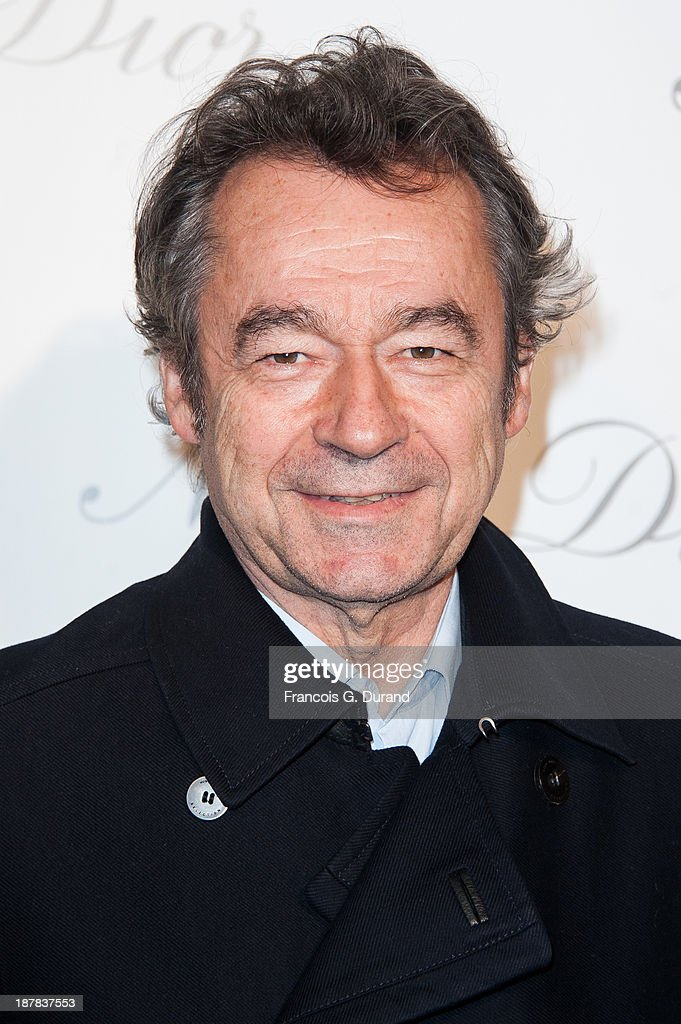 <a gi-track='captionPersonalityLinkClicked' href=/galleries/search?phrase=Michel+Denisot&family=editorial&specificpeople=753821 ng-click='$event.stopPropagation()'>Michel Denisot</a> attends the 'Esprit Dior, Miss Dior' Exhibition Opening at Grand Palais on November 12, 2013 in Paris, France.
