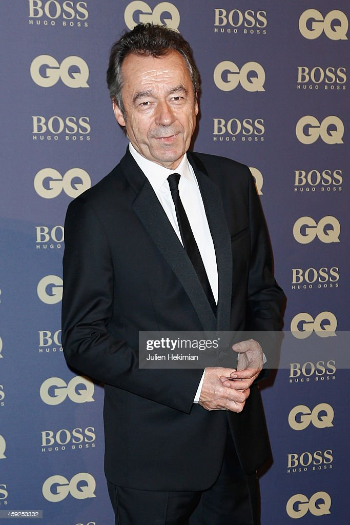 Michel Denisot attends the GQ Men Of The Year Awards 2014 at Musee d'Orsay on November 19, 2014 in Paris, France.