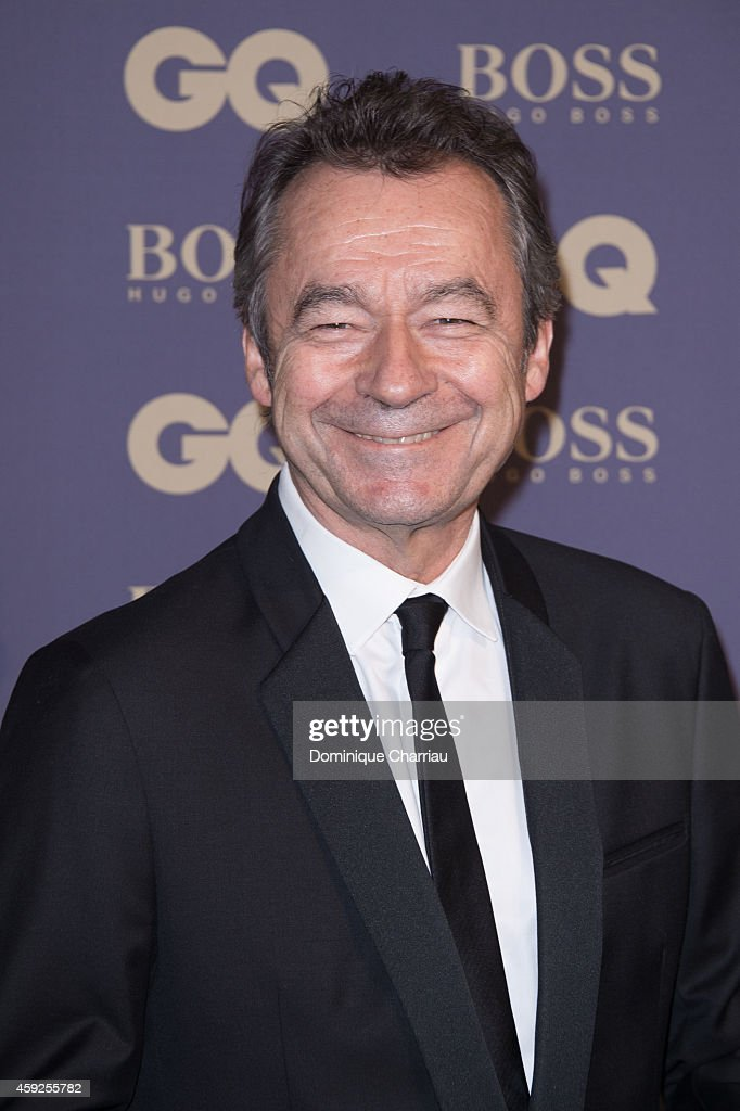 <a gi-track='captionPersonalityLinkClicked' href=/galleries/search?phrase=Michel+Denisot&family=editorial&specificpeople=753821 ng-click='$event.stopPropagation()'>Michel Denisot</a> attends the GQ Men Of The Year Awards 2014 Photocall In Paris at Musee d'Orsay on November 19, 2014 in Paris, France.