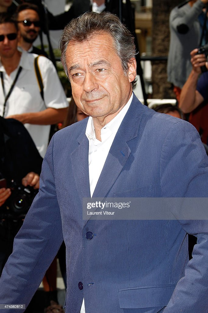 <a gi-track='captionPersonalityLinkClicked' href=/galleries/search?phrase=Michel+Denisot&family=editorial&specificpeople=753821 ng-click='$event.stopPropagation()'>Michel Denisot</a> attends the 'Valley Of Love' premiere during the 68th annual Cannes Film Festival on May 22, 2015 in Cannes, France.