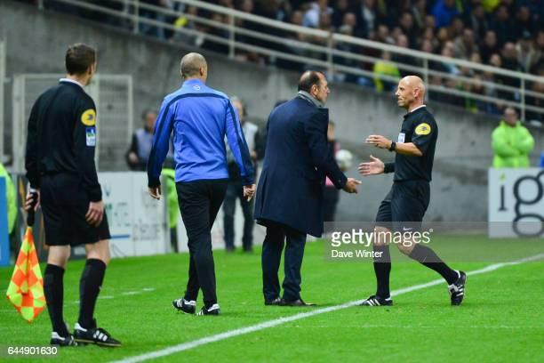 Michel DER ZAKARIAN / Amaury DELERUE Nantes / Lyon 16eme journee de Ligue 1 Photo Dave Winter / Icon Sport