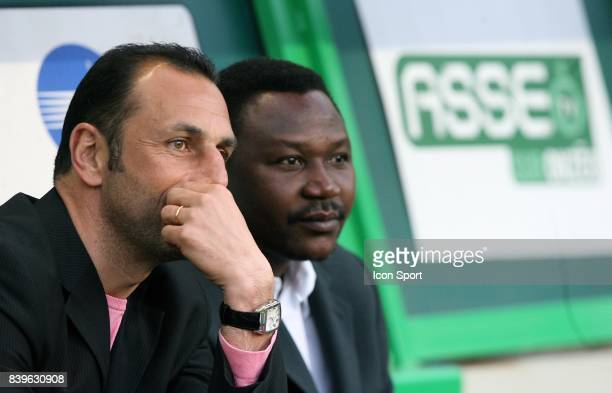 Michel DER ZAKARIAN / Japhet N DORAM 070407 Saint Etienne / Nantes 31eme Journee de Ligue 1