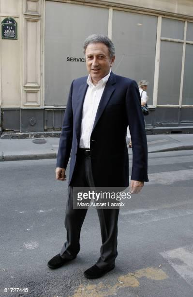 Michel Drucker attends the launching of the 24eme Fete du Cinema at Ministere de al Culture on June 26 2008 in Paris France