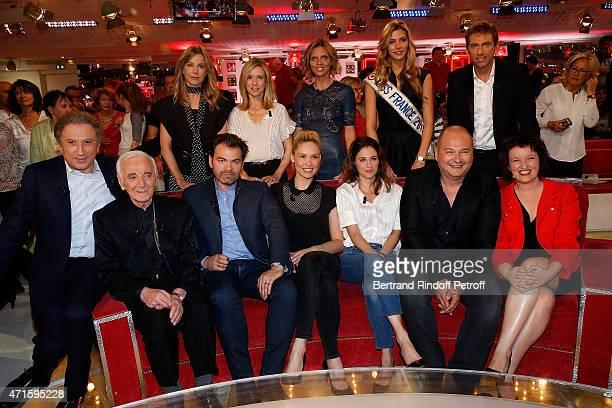 Michel Drucker Charles Aznavour Clovis Cornillac Lilou Fogli Melanie Bernier Sebastien Cauet Anne Roumanoff Pascale Arbillot Lea Drucker Sylvie...