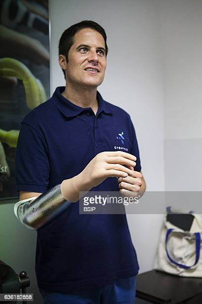 Michel Fornasier will be one of the presenters of the Cybathlon He has a bionic hand prosthesis and demonstrates one of the Cybathlon disciplines for...
