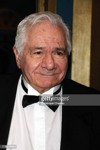 Michel Galabru attends XXIIeme Nuit Des Molieres at the Folies Bergeres on April 282008 Paris France