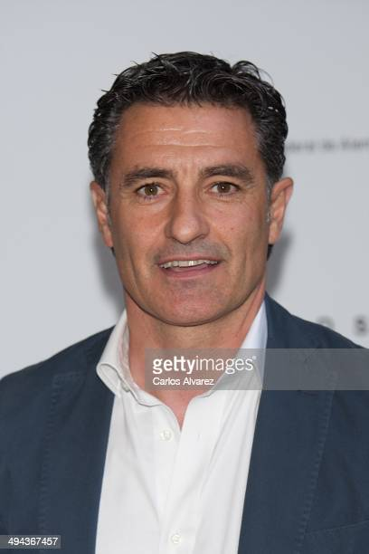 Michel Gonzalez attends the Hugo Boss 90th Anniversary party at the German Embassy on May 29 2014 in Madrid Spain