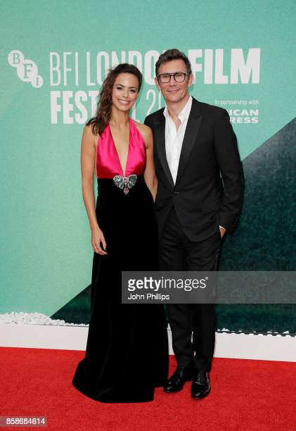 Michel Hazanavicius and Berenice Bejo attend the Create Gala UK Premiere of 'Redoubtable' during the 61st BFI London Film Festival on October 7 2017...