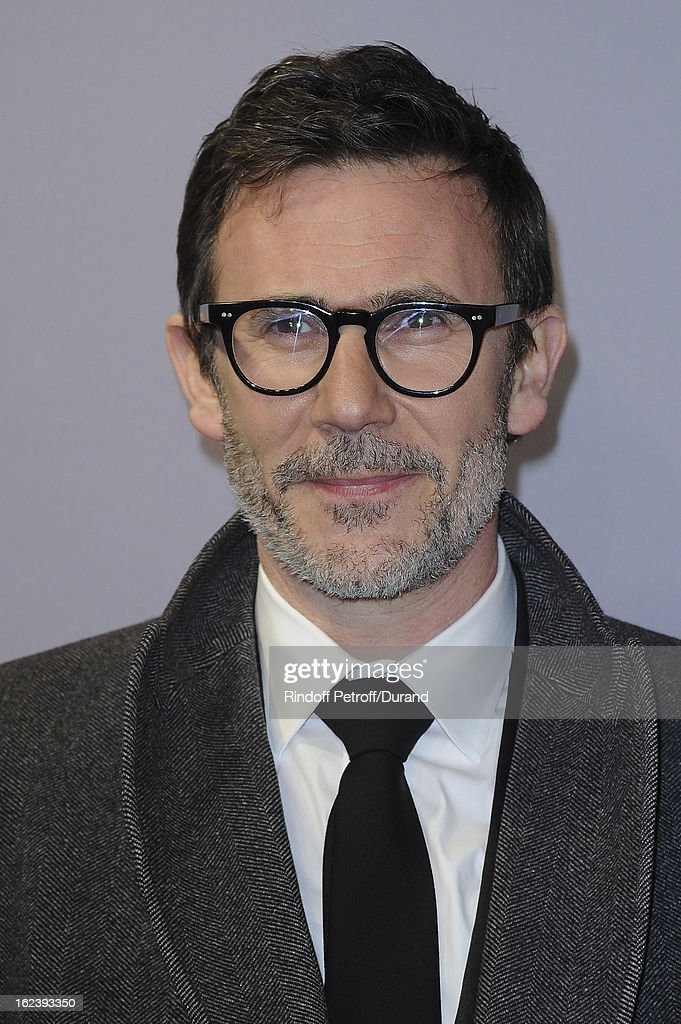 <a gi-track='captionPersonalityLinkClicked' href=/galleries/search?phrase=Michel+Hazanavicius&family=editorial&specificpeople=678372 ng-click='$event.stopPropagation()'>Michel Hazanavicius</a> arrives at Cesar Film Awards 2013 at Theatre du Chatelet on February 22, 2013 in Paris, France.