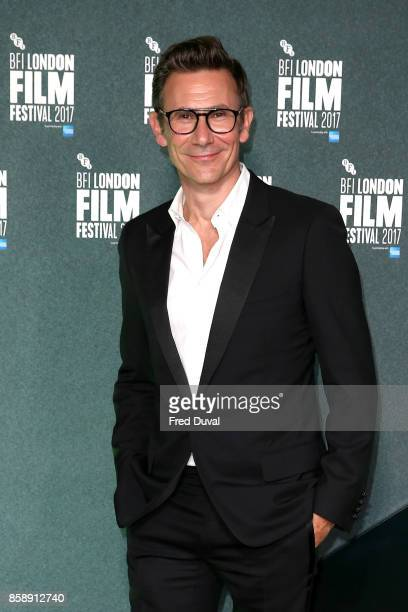 Michel Hazanavicius attends the Create Gala UK Premiere of 'Redoubtable' during the 61st BFI London Film Festival at the Embankment Gardens Cinema on...