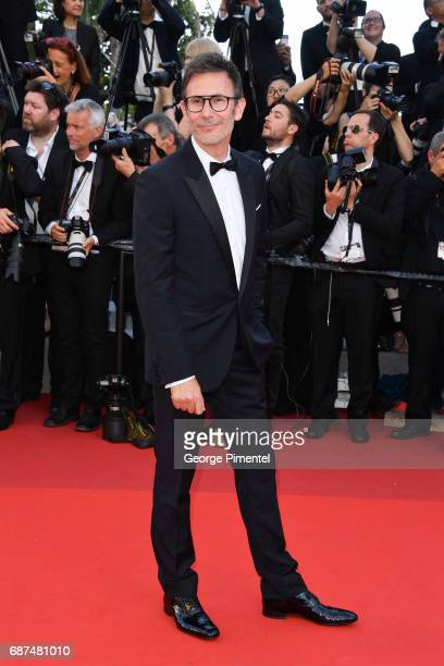 Michel Hazanaviciusm attends the 70th Anniversary screening during the 70th annual Cannes Film Festival at Palais des Festivals on May 23 2017 in...