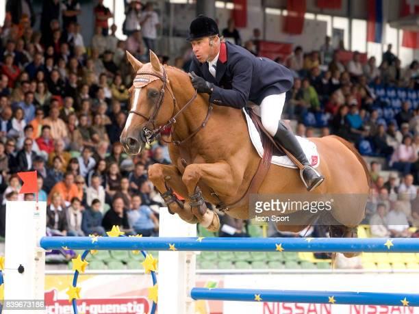 Michel HECART Itot Du Chateau Championnats d'Europe d Equitation Manheim