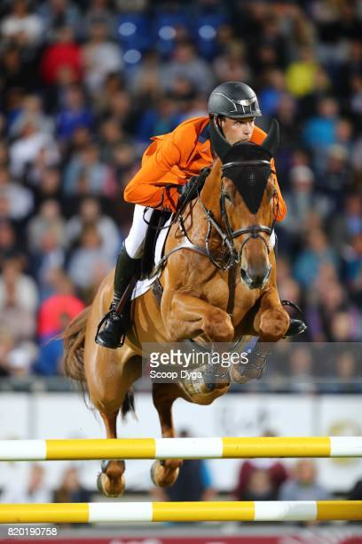 Michel HENDRIX riding BAILEYS during the Prize of North RhineWestphalia of the World Equestrian Festival on July 21 2017 in Aachen Germany