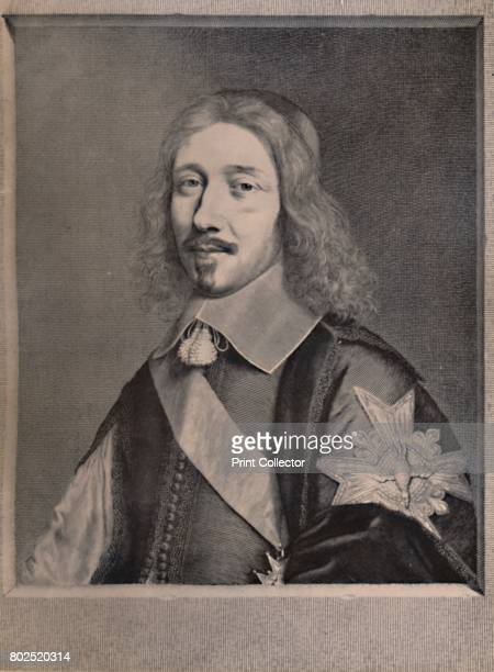 Michel le Tellier French statesman c1653 From A Collection of Engraved Portraits Exhibited by the Late James Anderson Rose at the Opening of the New...
