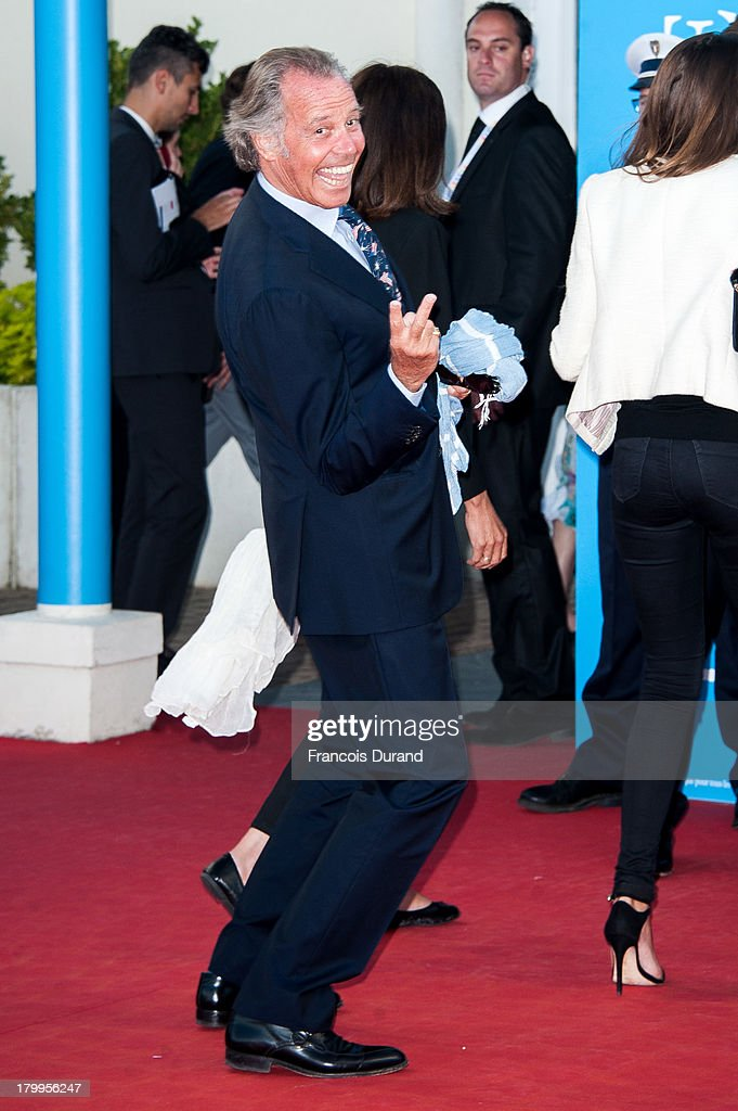 <a gi-track='captionPersonalityLinkClicked' href=/galleries/search?phrase=Michel+Leeb&family=editorial&specificpeople=607701 ng-click='$event.stopPropagation()'>Michel Leeb</a> arrives at the 'Snowpierce' Premiere and closing ceremony of the 39th Deauville American Film Festival on September 7, 2013 in Deauville, France.