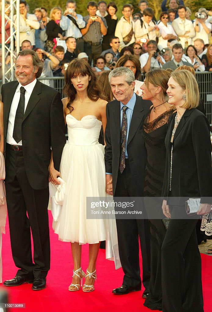 Michel Leeb, Maiwenn, <a gi-track='captionPersonalityLinkClicked' href=/galleries/search?phrase=Claude+Lelouch&family=editorial&specificpeople=207051 ng-click='$event.stopPropagation()'>Claude Lelouch</a>, <a gi-track='captionPersonalityLinkClicked' href=/galleries/search?phrase=Mathilde+Seigner&family=editorial&specificpeople=2577888 ng-click='$event.stopPropagation()'>Mathilde Seigner</a> and Agnes Soral