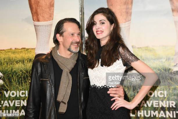 Michel Nabokov and Claire Chust attend 'Problemos' Paris Premiere At UGC Cine Cite Les Halles on May 9 2017 in Paris France