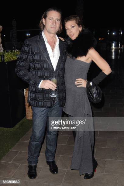 Michel Perrin and Sally Perrin attend Lorenz Baumer Private Dinner in Celebration of his Paris Fine Jewelry Collection at The London West Hollywood...