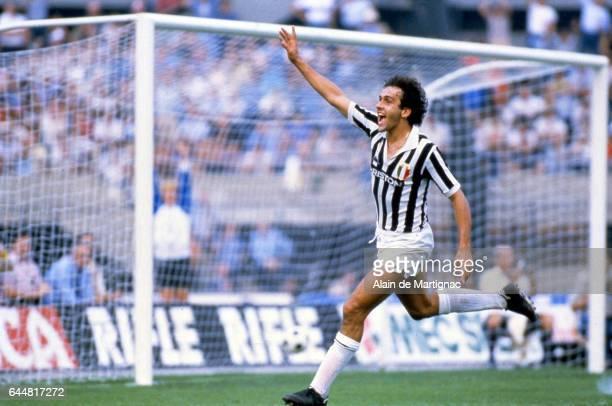 Michel PLATINI Juventus Turin / Sampdoria Serie A Photo Alain Martignac / Icon Sport
