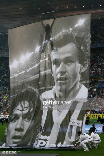 Michel PLATINI Fc Barcelone / Arsenal Finale de la Ligue des Champions Stade de France Paris
