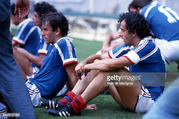 Michel platini pictures getty images - Finale coupe du monde 1986 ...