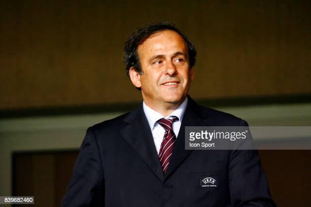 Michel PLATINI Milan AC / FC Seville Finale de la Super Coupe d'Europe Monaco
