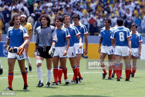 Platini 1986 stock photos and pictures getty images - Finale coupe du monde 1986 ...