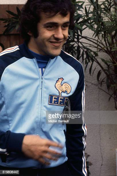 Michel Platini of France after konwing that he is part of the 22 french players who will play the 1982 World Cup