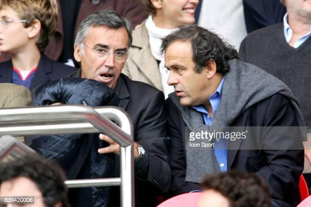 Michel PLATINI / Pierre BLAYAU PSG / Nantes 10eme Journee de Ligue 1