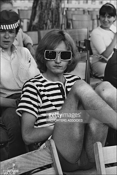 Michel Polnareff in France on June 22 1966