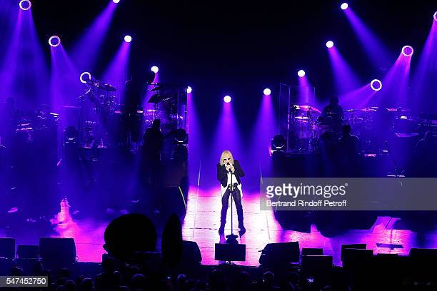 Michel Polnareff Perfoms at l'Olympia for the Bastille Day at L'Olympia on July 14 2016 in Paris France