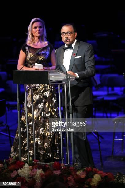 Michel Sidibe Unaids Executive Director during the 24th Opera Gala benefit to Deutsche AidsStiftung at Deutsche Oper Berlin on November 4 2017 in...