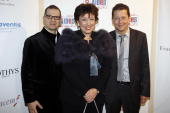 Michel Simon Roselyne Bachelot and Bruno Spire attend the 25th anniversary dinner for ''AIDS International'' at Les BeauxArts de Paris on November 28...