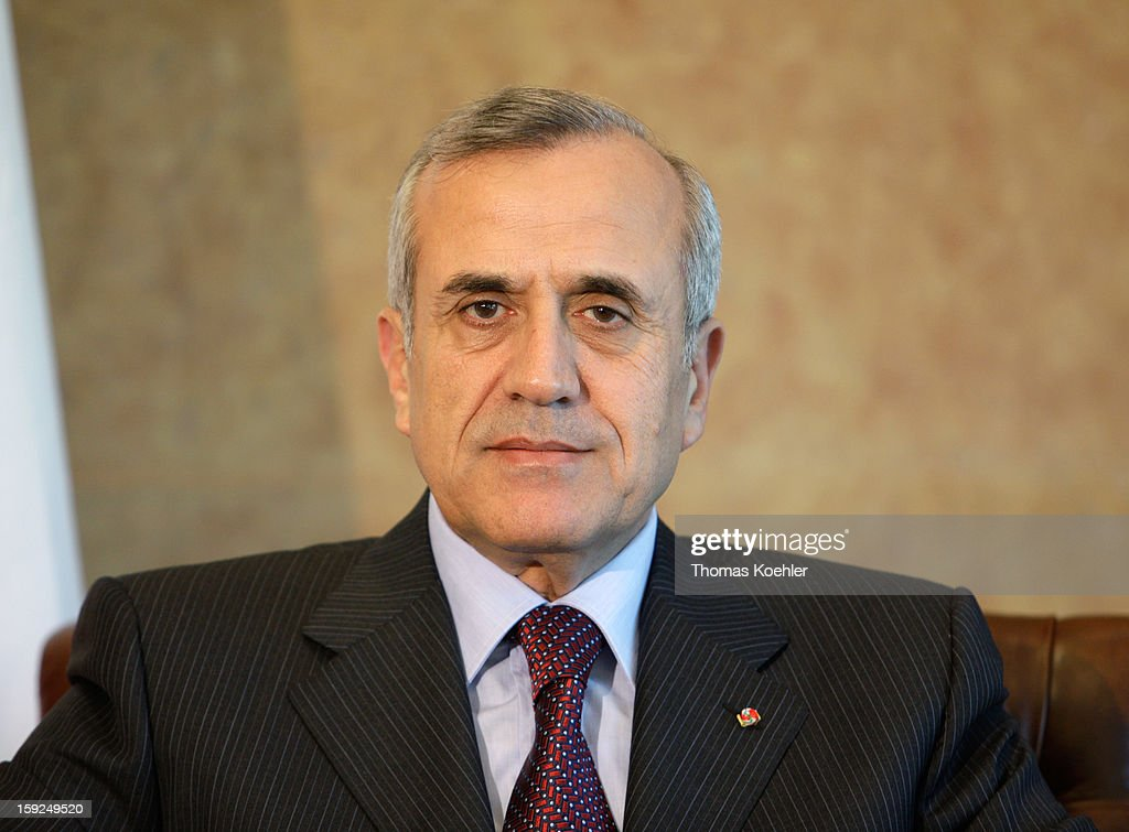 <a gi-track='captionPersonalityLinkClicked' href=/galleries/search?phrase=Michel+Sleiman&family=editorial&specificpeople=2069358 ng-click='$event.stopPropagation()'>Michel Sleiman</a>, President of Lebanon, June 1, 2008 in Beirut, Lebanon.