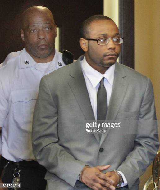 Michel St Jean is led into Suffolk Superior Court in Boston on Sep 24 where he Alexander Gallett and Yamiley Mathurin were sentenced in the murder of...