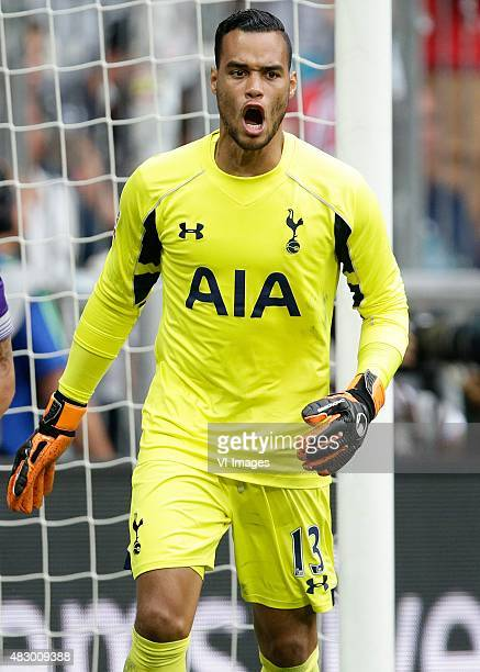 Michel Vorm of Tottenham Hotspur during the AUDI Cup match between Real Madrid and Tottenham Hotspur on August 4 2015 at the Allianz Arena in Munich...