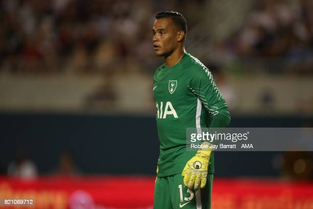 Michel Vorm of Tottenham Hotspur during the International Champions Cup match between Paris SaintGermain and Tottenham Hotspur on July 22 2017 in...