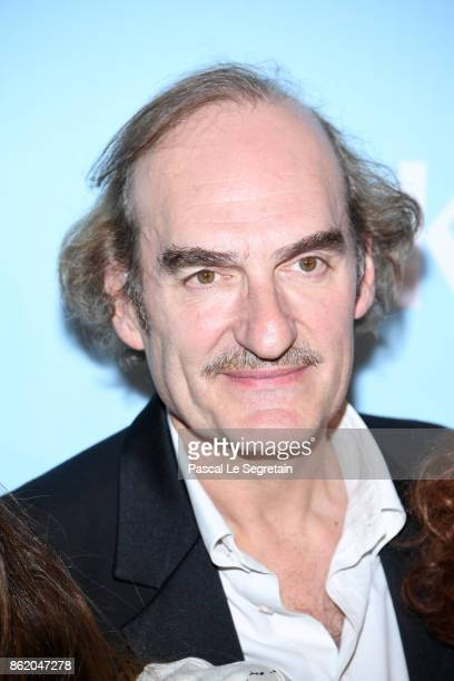 Michel Vuillermoz attends 'Knock' Premiere at Cinema UGC Normandie on October 16 2017 in Paris France