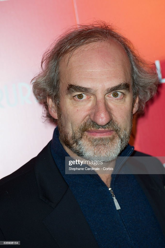 Michel Vuillermoz attends 'La Venus A La Fourrure' (Venus In Fur) Premiere at Cinema Gaumont Marignan, in Paris.