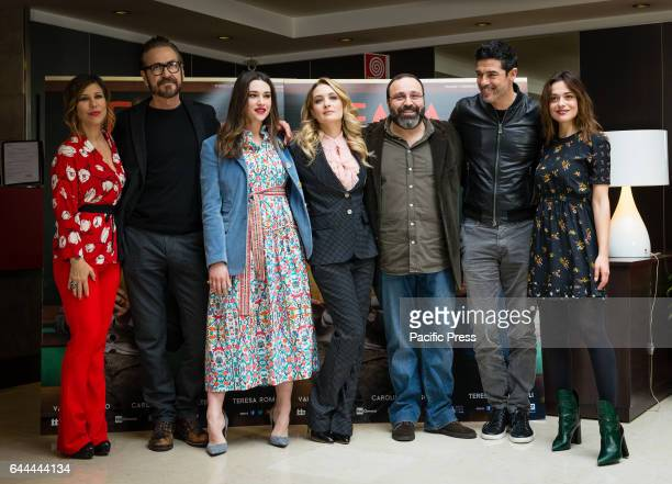 Michela Andreozzi Marco Giallini Teresa Romagnoli Carolina Crescentini Massimiliano Bruno Alessandro Gassmann and Valeria Bilello attend the...