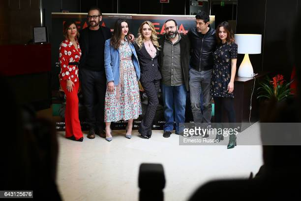 Michela Andreozzi Marco Giallini Teresa Romagnoli Carolina Crescentini director Massimiliano Bruno Alessandro Gassmann and Valeria Bilello attend a...