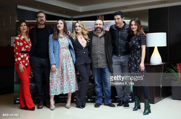 Michela Andreozzi Marco Giallini Teresa Romagnoli Carolina Crescentini director Massimiliano Bruno Alessandro Gassman and Valeria Bilello attend a...