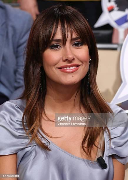 Michela Coppa attends at 'Quelli Che Il Calcio' TV Show on March 9 2014 in Milan Italy