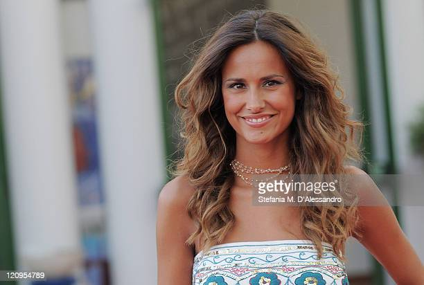 Michela Coppa poses at the Cittadella during the Giffoni Experience on July 20 2009 in Salerno Italy
